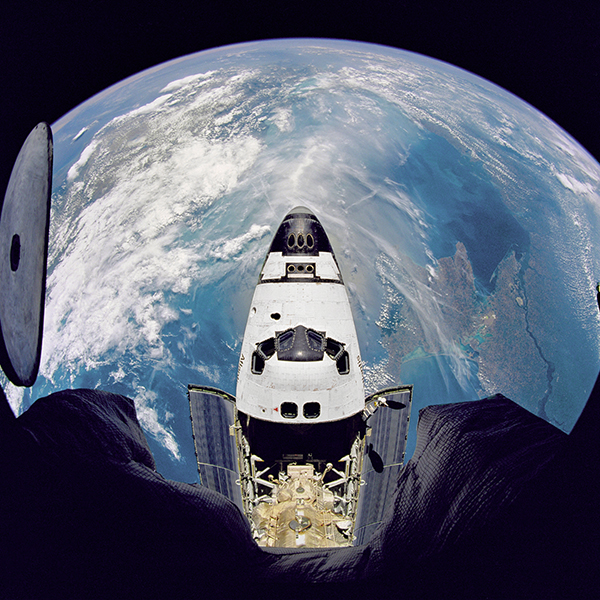 Atlantis NASA Space Earth Orbit View
