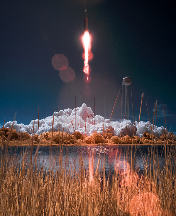 Antares Rocket with Cygnus Spacecraft Launch NASA Kennedy Space Center