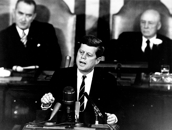 John F Kennedy Speech Manned Space Flight